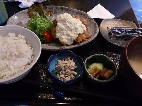 魚山亭・ちきん南蛮定食