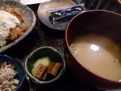 魚山亭・定食